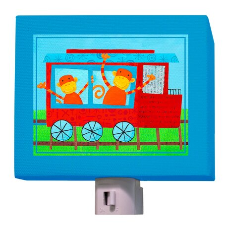 Animal Choo Choo Night Light by Oopsy Daisy