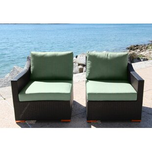 Marcelo Left/Right Sectional Piece with Cushions By Bellini Home and Garden
