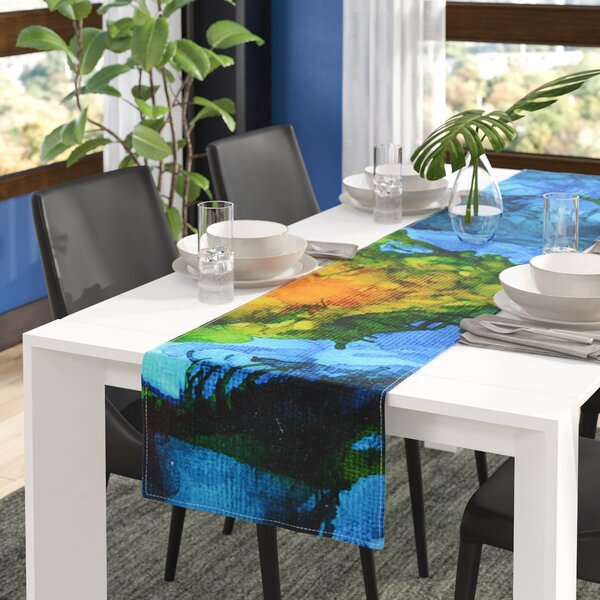 Claire Day Flow Table Runner by East Urban Home