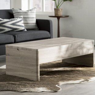 Compare prices Ager Lift Top Coffee Table ByMercury Row