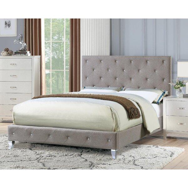 Senath Upholstered Platform Bed by House of Hampton