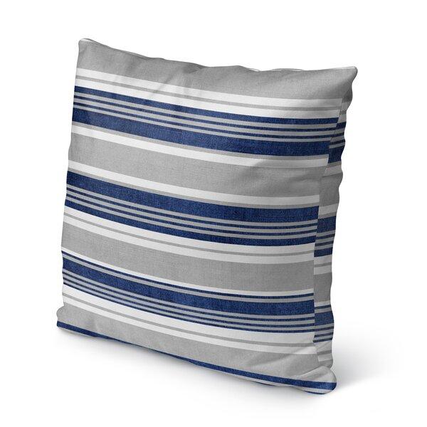 Sagamore Burlap Indoor/Outdoor Throw Pillow by KAVKA DESIGNS
