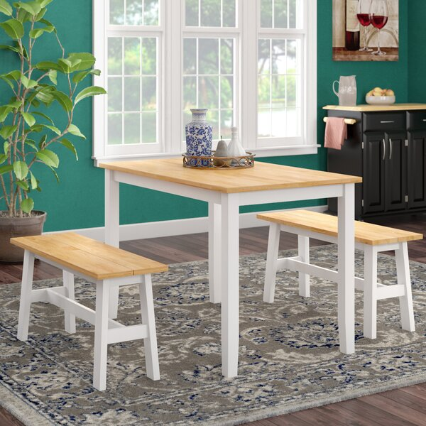 Kaya 3 Piece Dining Set by Winston Porter