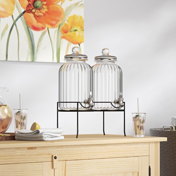 Hedwig 3 Piece Beverage Dispenser Set by Darby Home Co