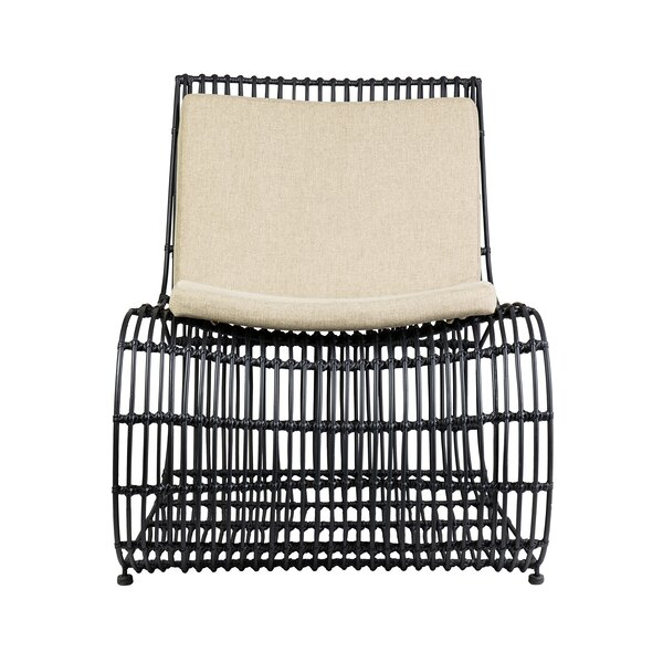Clavier Rattan Occasional Lounge Chair by Bungalow Rose Bungalow Rose