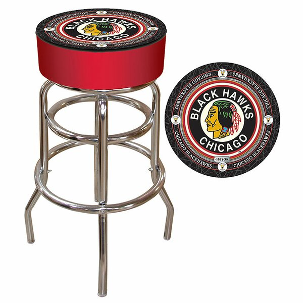 NHL Montreal Canadians 31 Swivel Bar Stool by Trademark Global
