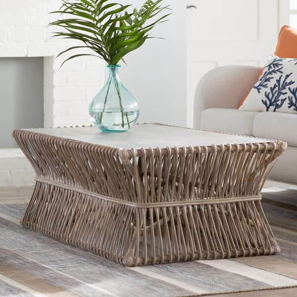 Sephina Solid Wood Solid Coffee Table By Beachcrest Home