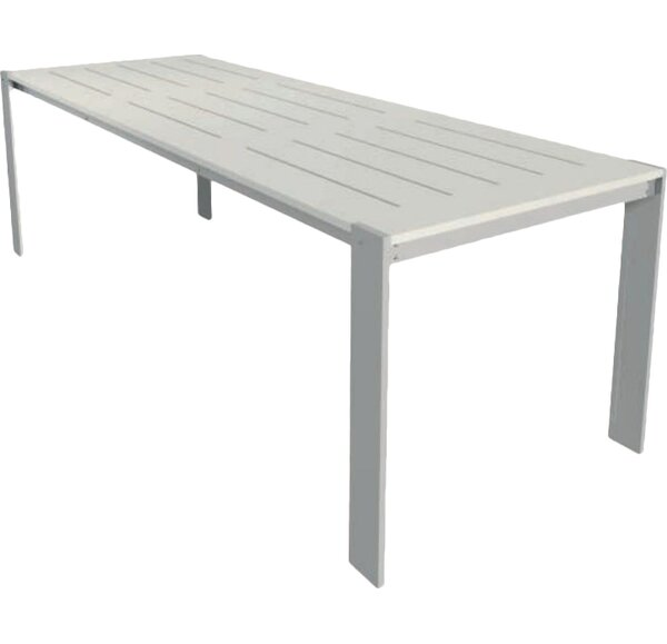 Luma Aluminum Dining Table by Modern Outdoor
