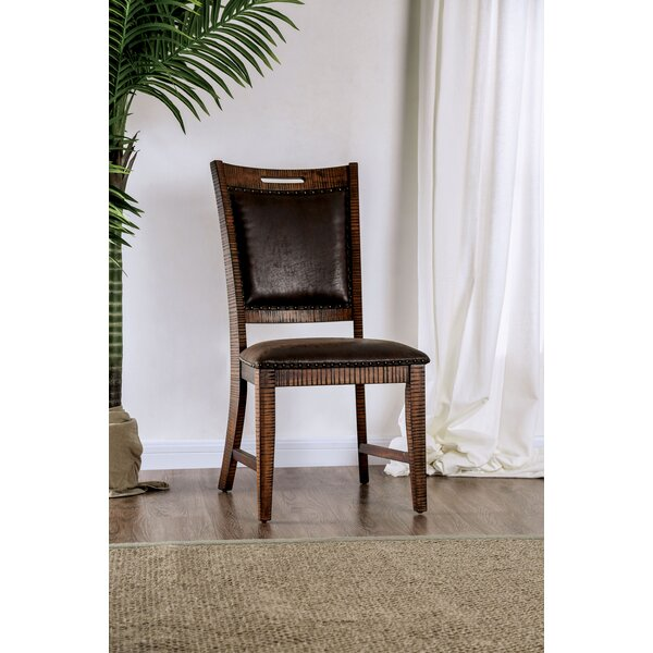 Macleod Nailhead Upholstered Dining Chair (Set of 2) by Millwood Pines