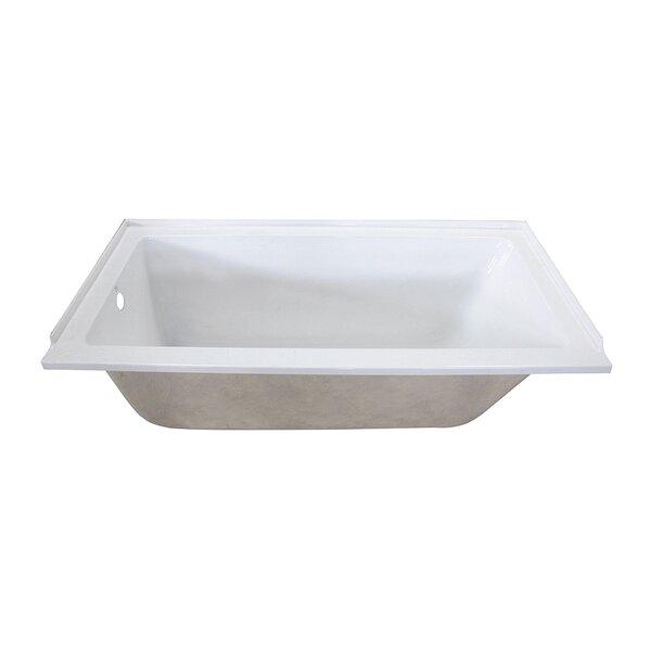 Aqua Eden 60 x 30Tile in Soaking Bathtub by Kingston Brass