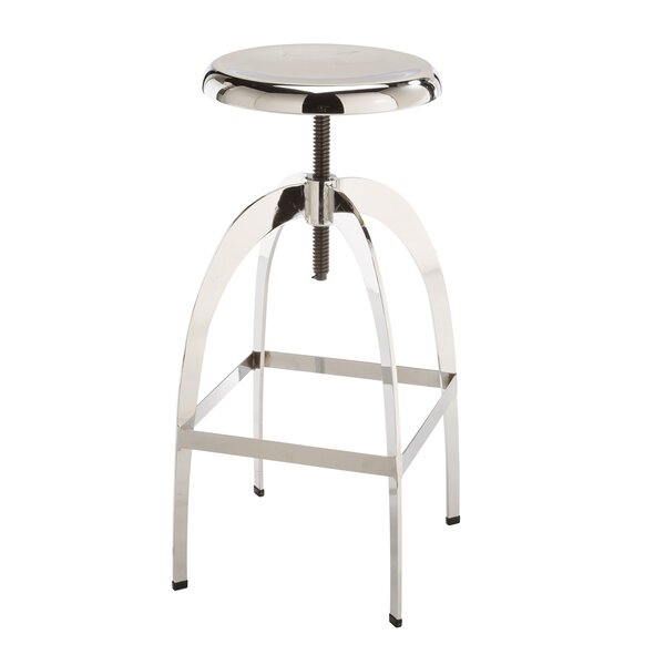 Brierfield Colby Adjustable Swivel Bar Stool by Wade Logan