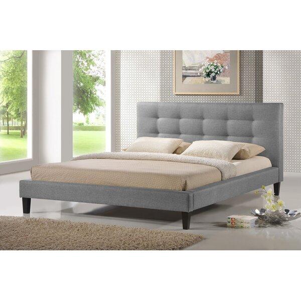 Pelham Upholstered Platform Bed by Modern Rustic Interiors