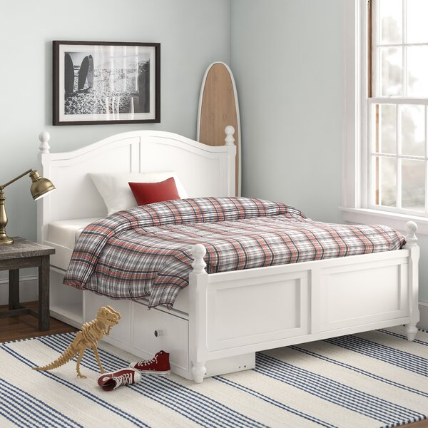 Nickelsville Full Panel Bed with One Drawer by Three Posts Baby & Kids
