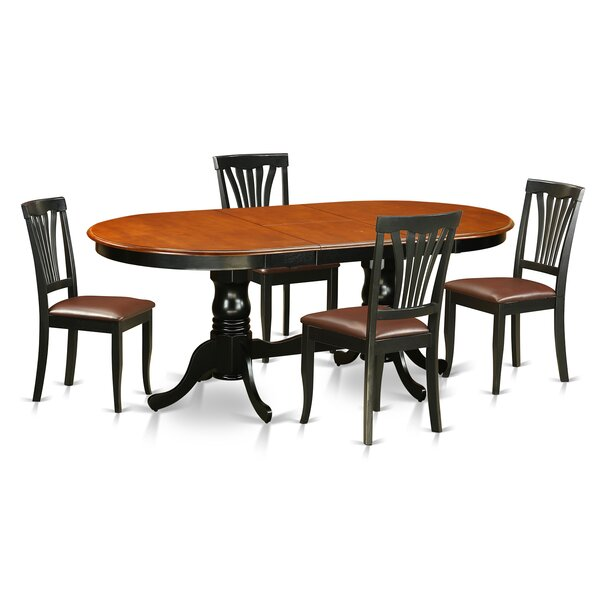 Newton 5 Piece Dining Set by Wooden Importers
