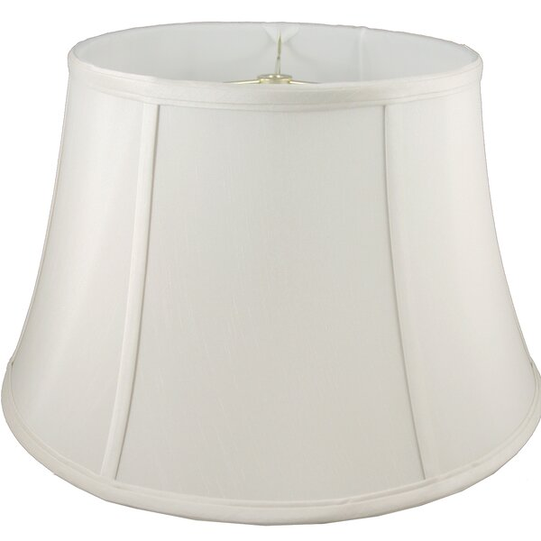 17.5 Faux Silk Bell Lamp Shade by American Heritage Lampshades