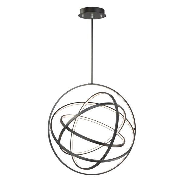 Eckles 5-Light LED Unique / Statement Globe Chandelier By Orren Ellis