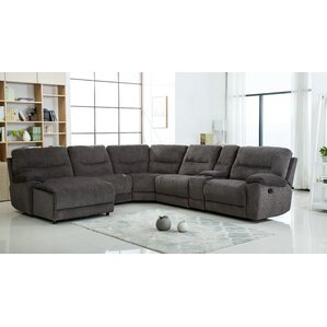 Hai Chenille Reclining Sectional  sc 1 st  Wayfair.com : chenille sofa with chaise - Sectionals, Sofas & Couches