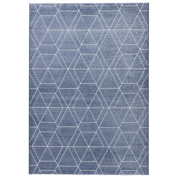 Presley Smoke Blue/Simply Taupe Area Rug by Langley Street