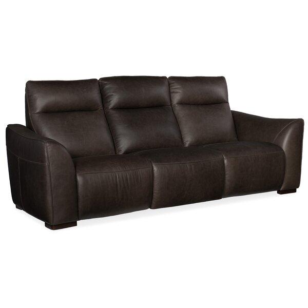 Discount Athena Leather Reclining Sofa