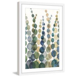 'Pompom Botanical I' Framed Painting Print by Marmont Hill