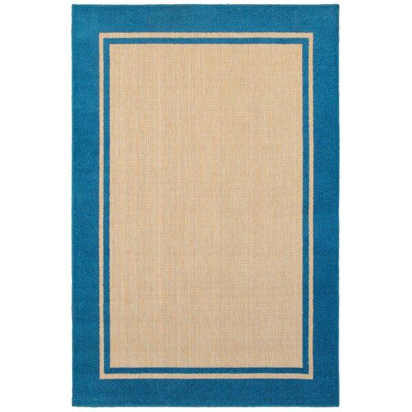 Laub Ocean Blue/Sand Rug