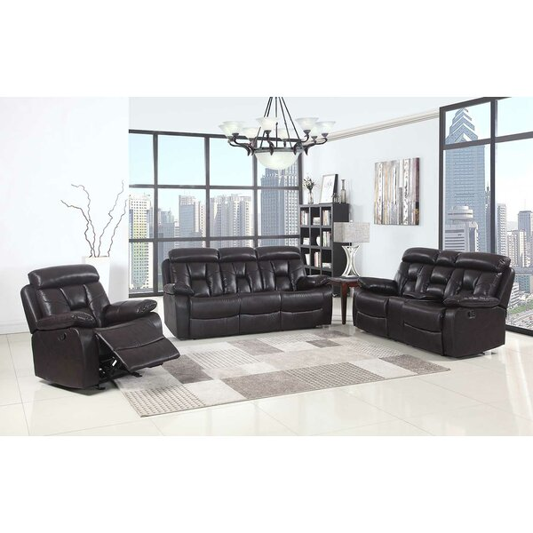 Claverton Down Reclining  3 Piece Living Room Set (Set of 3) by Red Barrel Studio