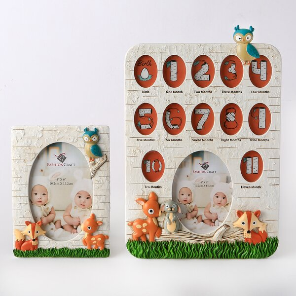 2 Piece Terrie Animals Picture Frame Set by Harriet Bee