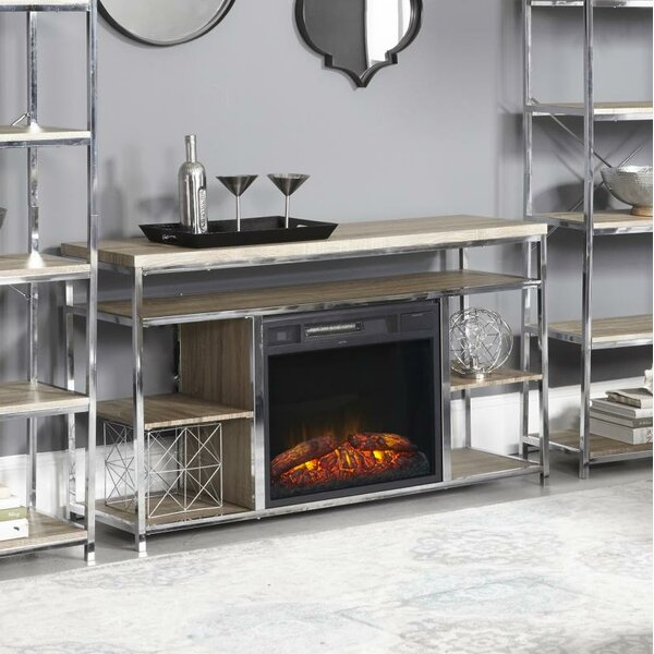 Halbert 35 TV Stand with Fireplace by Ivy Bronx