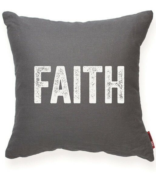 Expressive Faith Decorative Throw Pillow by Posh365