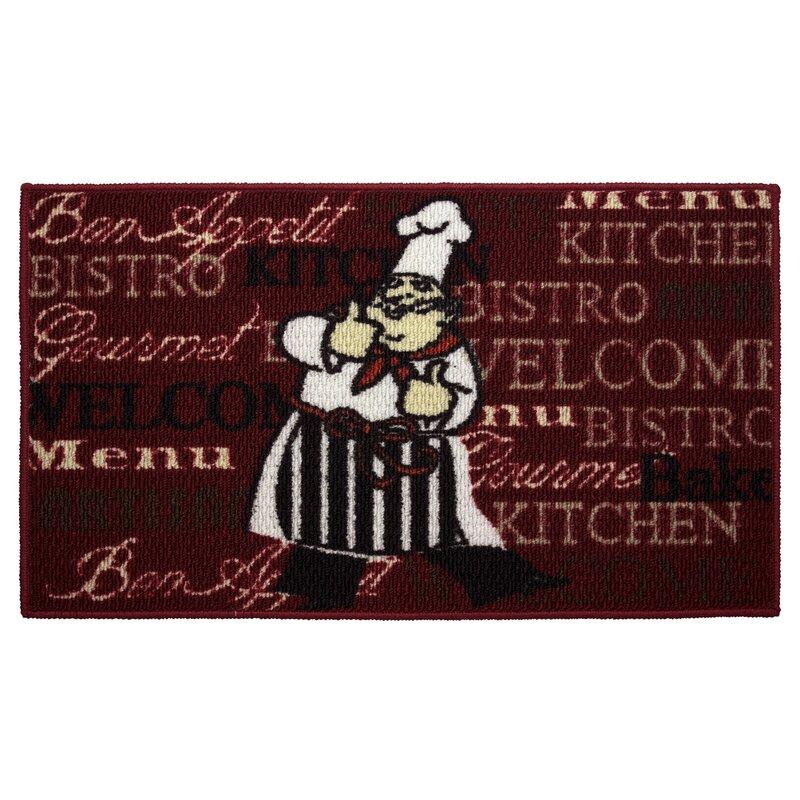 Structures Textured Loop Bistro Chef Kitchen Area Rug