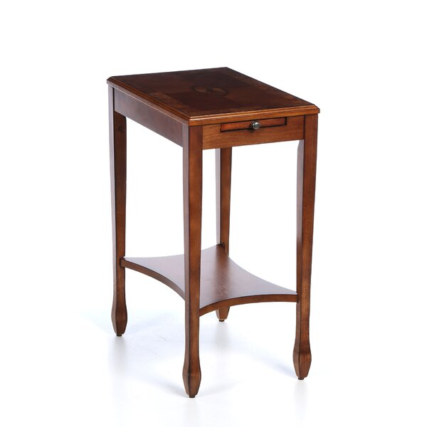 Bulwell End Table With Storage By Charlton Home
