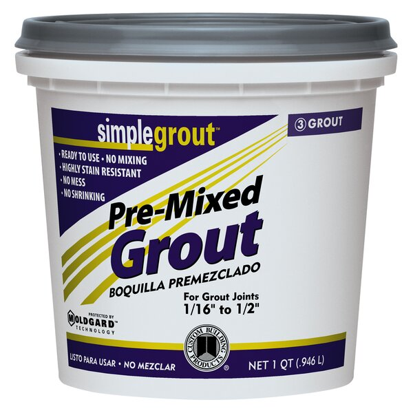 Premixed Grout 1 Quart (Set of 6) by Custom Building Products