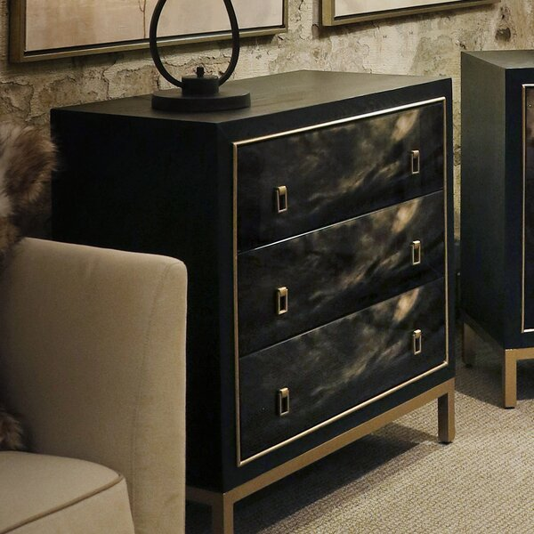 Almanza 3 Drawer Chest by Mercer41