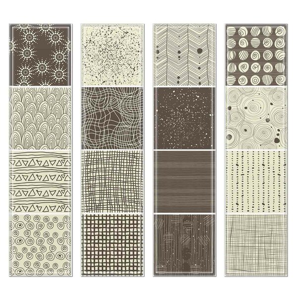 Crystal 3 x 12 Beveled Glass Subway Tile in Gray/Brown by Upscale Designs by EMA