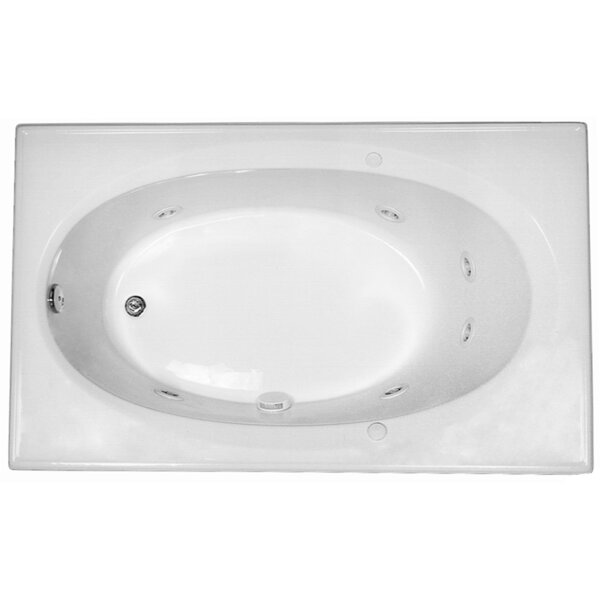 Reliance 59 x 36 Whirlpool Bathtub by Reliance