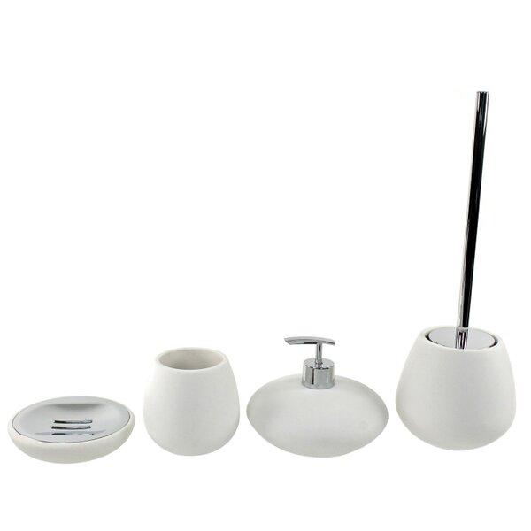 Opuntia 4-Piece Bathroom Accessory Set by Gedy by Nameeks