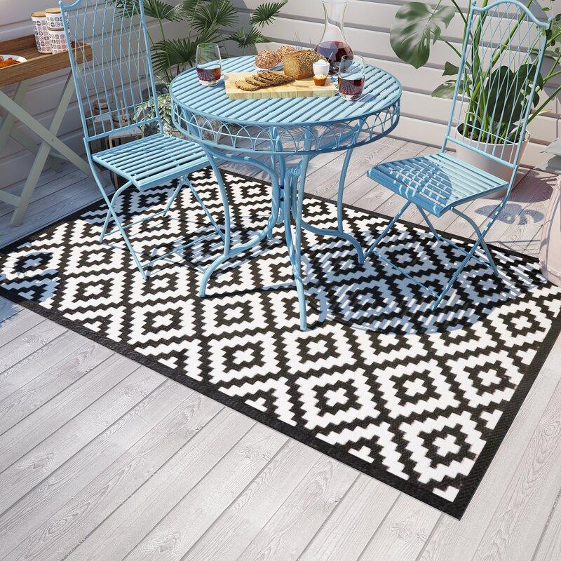 modern you au enteppich kenji in schwarz bewertungen. Black Bedroom Furniture Sets. Home Design Ideas