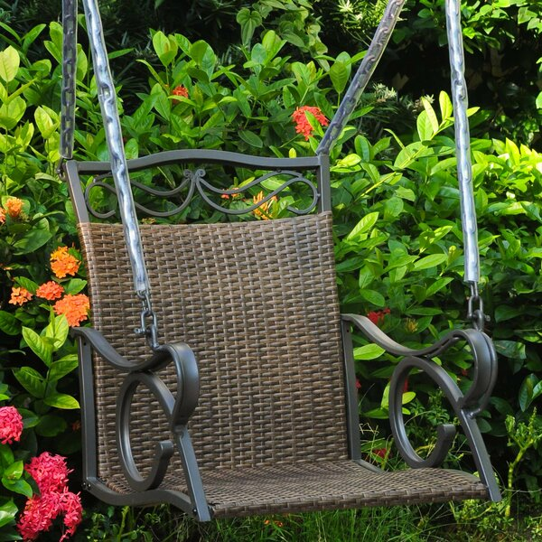 Stapleton Porch Swing by Charlton Home