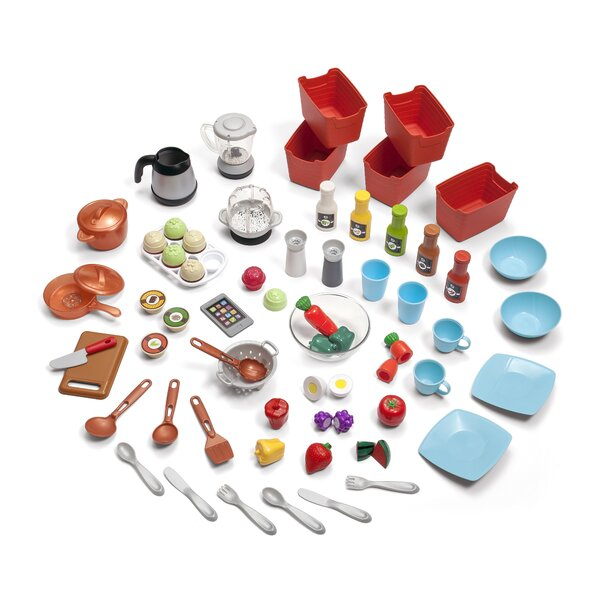 Grand Luxe 78 Piece Kitchen Set by Step2