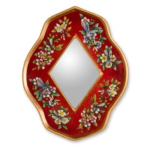 Novica The Gelacio G Reverse Painted Accent Mirror