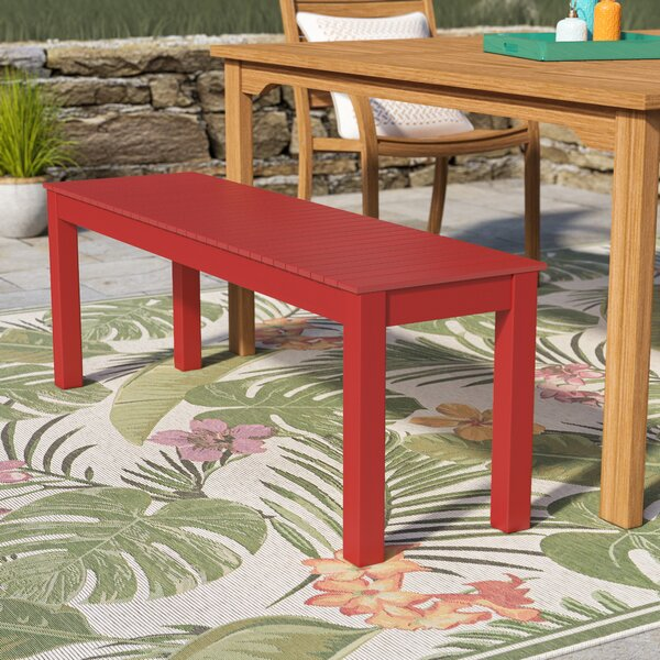 Mullican Wooden Picnic Bench by Beachcrest Home