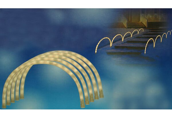 Archways or Pathway Markers Christmas 50 Light String Light (Set of 5) by Sienna Lighting