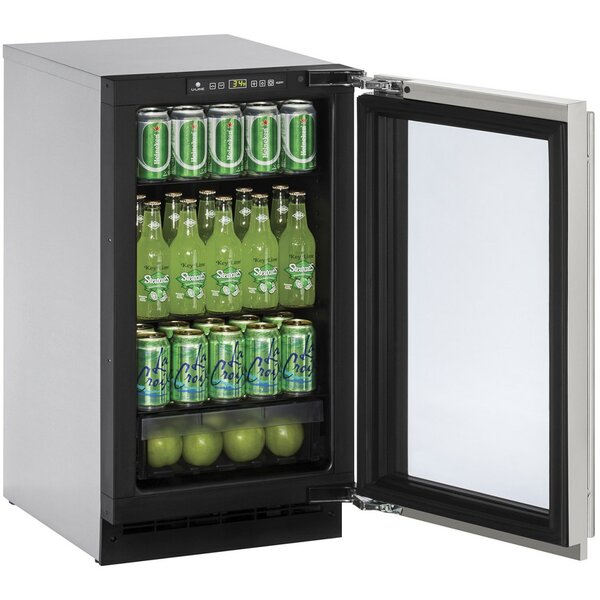 2000 Series Reversible Stainless Steel 18-inch 3.6 cu. ft. Undercounter Refrigeration by U-Line