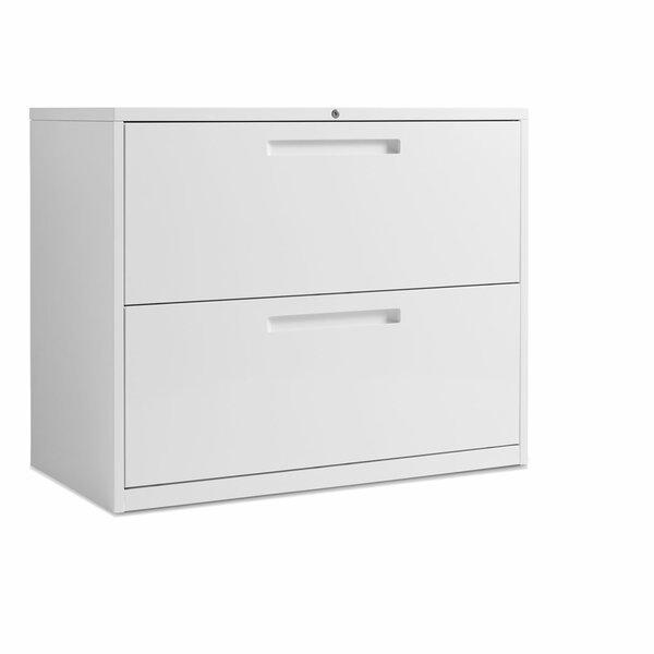 2 Drawer Filing Cabinet by Blu Dot