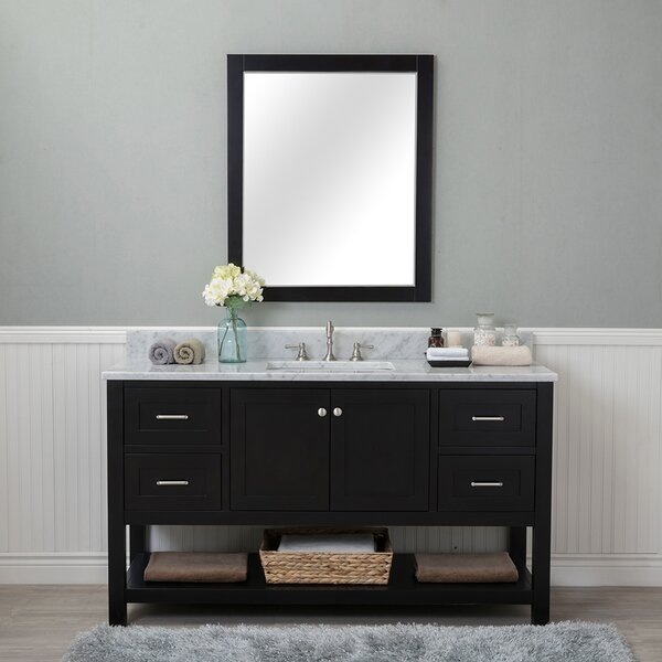 Shae 60 Single Bathroom Vanity Set with Mirror by Darby Home Co