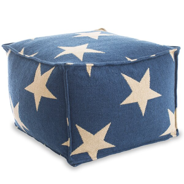 Star Pouf by Fresh American