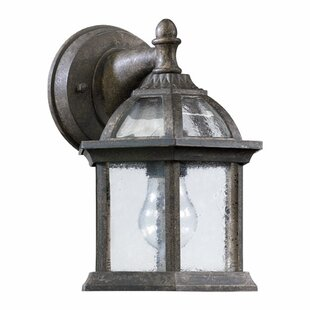 Clearance Otterville 1-Light Outdoor Wall Lantern By Three Posts