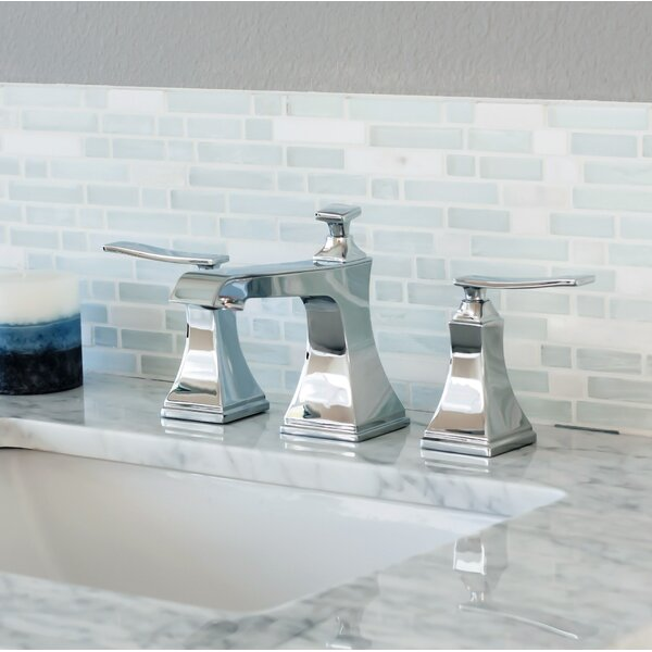 Elysa Widespread Bathroom Faucet With Drain Assembly By Miseno