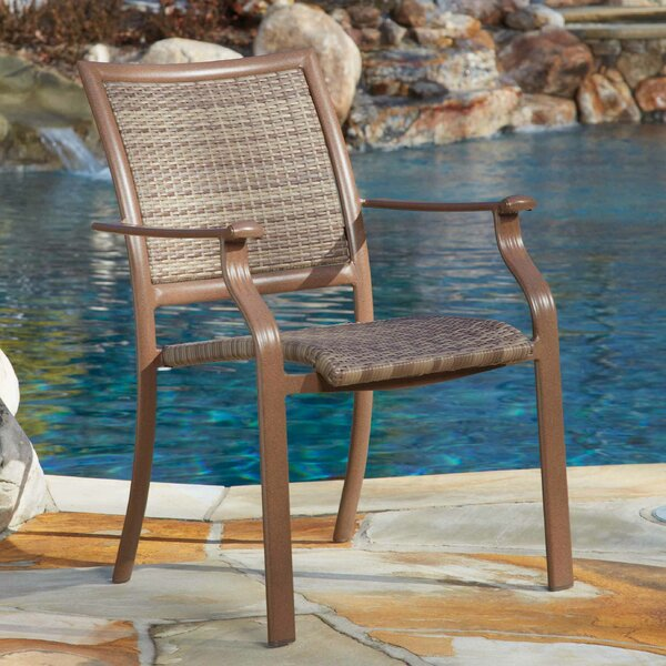 Island Cove Stacking Patio Dining Chair by Panama Jack Outdoor