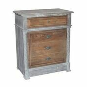 Hugo 4 Drawers Accent Chest by Bungalow Rose